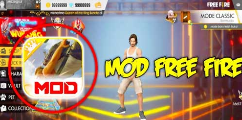 download free fire mod diamond 999999